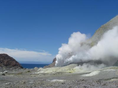 White Island - Active Volcano in the Ocean